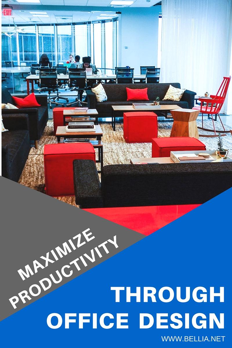 maximize productivity through office design Bellia
