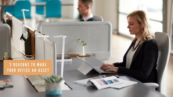 make your office an asset