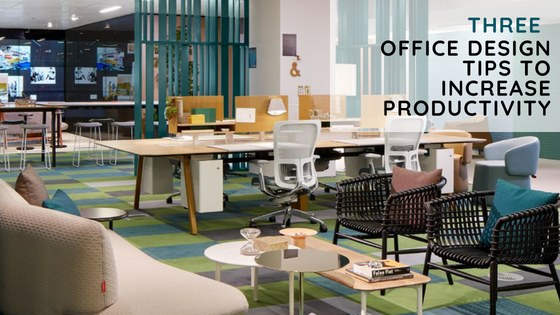3 Office Design Ideas To Increase Productivity