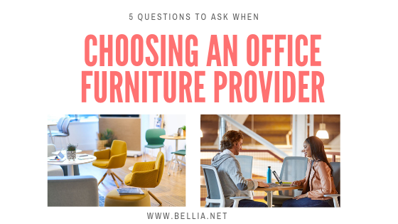 5 questions to ask when choosing a professional office furniture provider