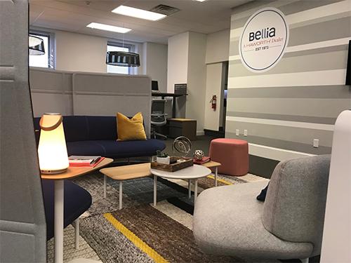 Bellia Office Furniture opened Workplace Studio in Camden NJ.