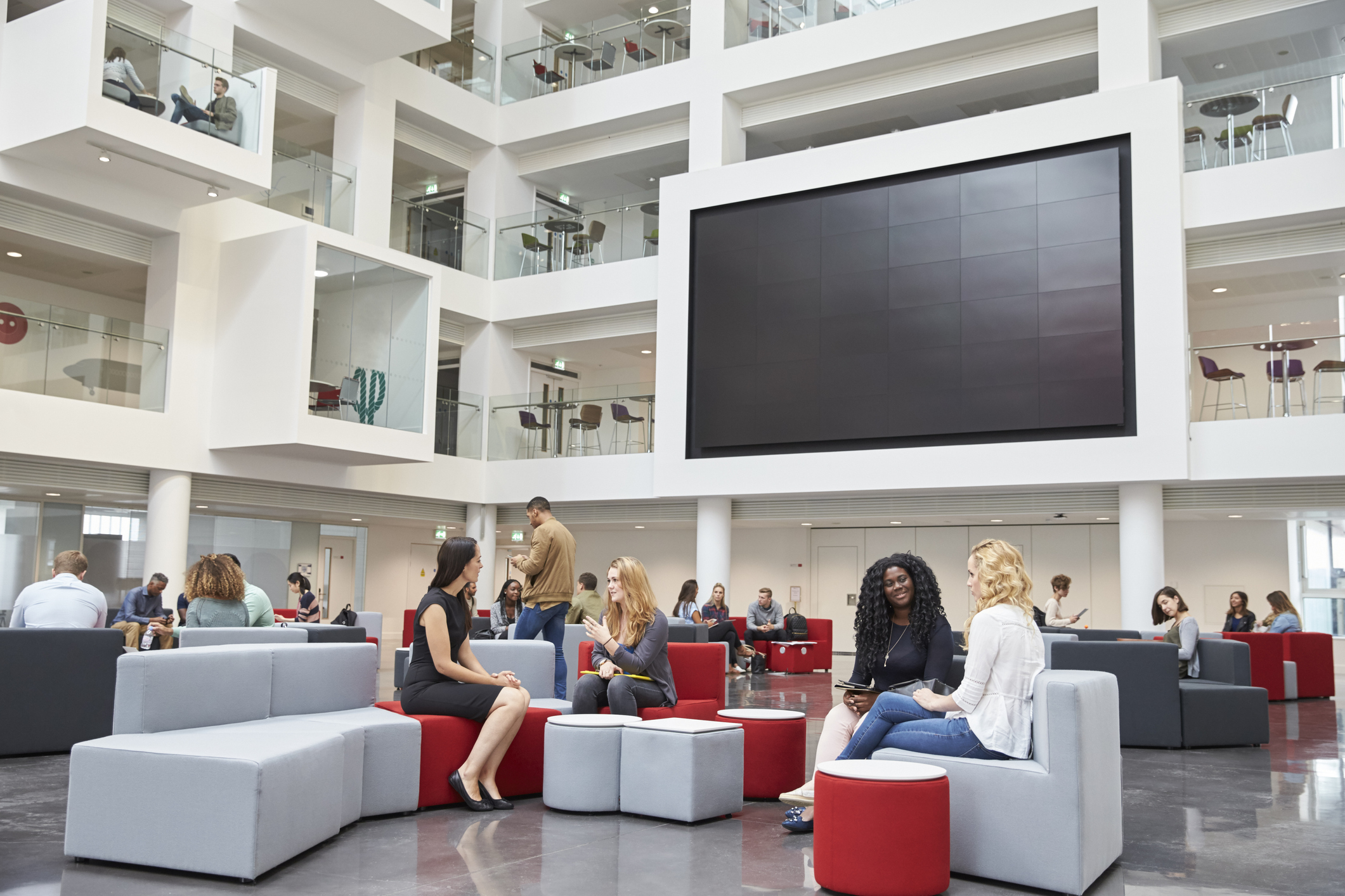 Designing Spaces for Higher Education